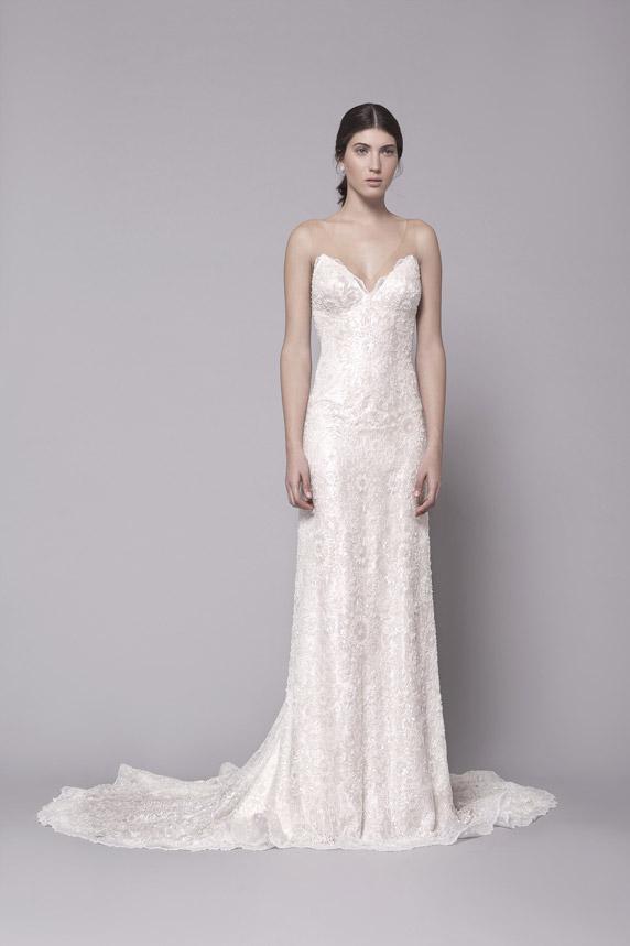שמלה מעוצבת של לי גרבנאו. צילום: תום מרשק
