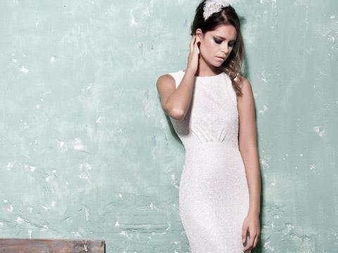 הכלה שאת רוצה להיות. שמלת כלה לחורף 2015 של שיר קולטון (צילום: איתן טל)